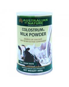 Australian by Nature Colostrum & Milk Powder 4000lgG - 400g ABN00620
