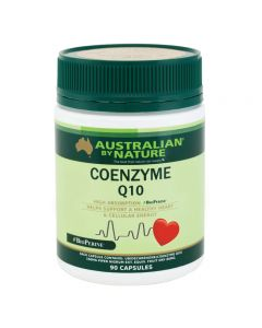Australian by Nature Coenzyme Q10 (+ BioPerine) 150mg 90 capsules ABN00629