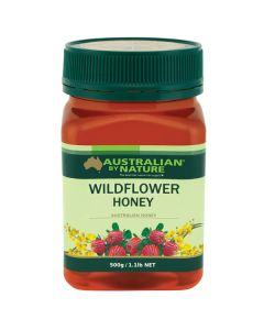 Australian By Nature Wildflower Honey 500g    ABN00661