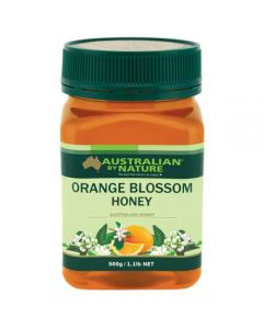 Australian By Nature Orange Blossom Honey 500g      ABN00662