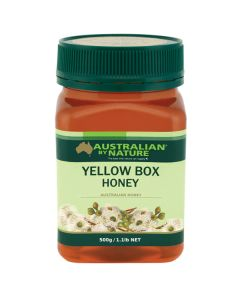 Australian By Nature Yellow Box Honey 500g ABN00663