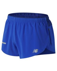 New Balance 男裝3寸短褲藍色 (大碼)