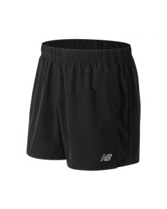 New Balance Mens AMS81278 Accelerate 5IN Shorts Black