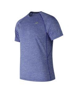 New Balance AMT81095 Tenacity 男裝T恤藍色