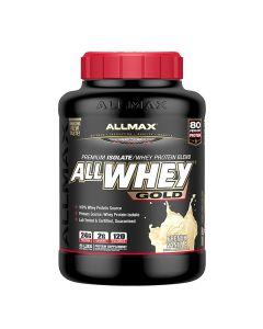 ALLMAX All Whey Gold 5lbs - French Vanilla AMXAWGBPFVAN5LBS