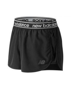 New Balance Womens AWS81134 Accelerate 2.5 Inch Short Black