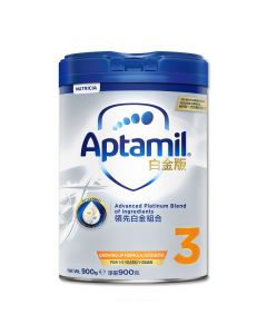 Aptamil - 白金版 3號幼兒成長配方奶粉 (900克) B-AP0003