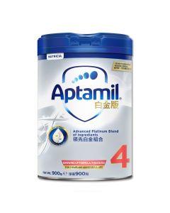 Aptamil - 白金版 4號兒童成長配方奶粉 (900克) B-AP0004