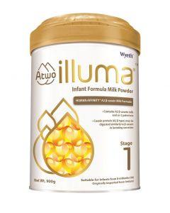 惠氏 - ILLUMA 親和人體A2 β-酪蛋白配方 1號初生嬰兒配方奶粉 (900克) B-WY0013