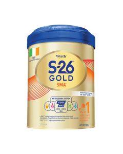 惠氏 - S-26 GOLD SMA 1號奶粉 (900克) B-WY0020