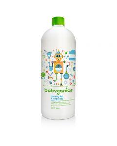 Babyganics - Dish & Bottle Soap - Fragrance Free 946ml Refill BG-012023
