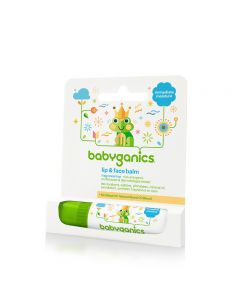 Babyganics - Moisturizing Lip & Face Balm 7g - Fragrance Free BG-01277