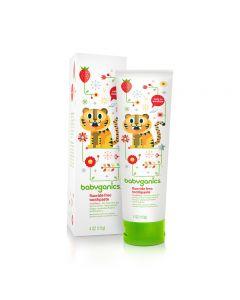 Babyganics - Fluoride Free Toothpaste 113g - Strawberry BG-01287