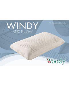 Woody - 馬來西亞 100% 全天然乳膠枕 傳統型 BIGPP70