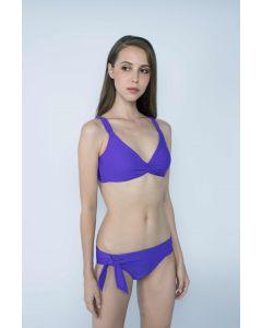 Gourami x Charmaine Tie In Bikini Purple