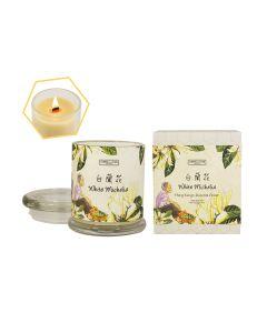 Carroll&Chan - White Michelia beeswax jar candle C_04_WHI-MICHELI