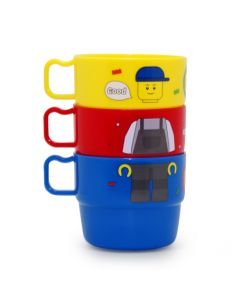 Oxford Creation-積木公仔兒童水杯三隻套裝 CT17FW0056