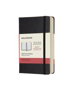Moleskine 2020 全年12個月經典手帳日記本黑色( 9 x 14 CM) dailyplanner_black