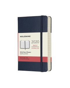 Moleskine 2020 全年12個月經典手帳日記本藍色 (9 x 14 CM) dailyplanner_blue