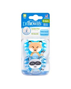 Dr Brown's - PreVent Pacifier 2s - Stage 1 DR-PV12015