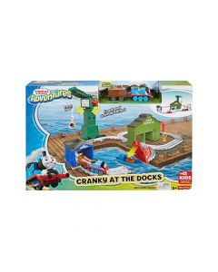 Mattel Games - Fisher-Price® Thomas & Friends™ Adventures Cranky at the Docks Playset DVT13