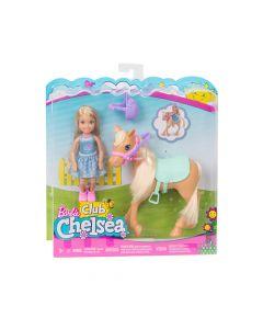 Mattel Games - Barbie® Club Chelsea™ Dolls & Horse DYL42