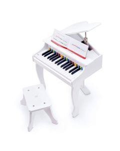 Hape Deluxe White Grand Piano E0338