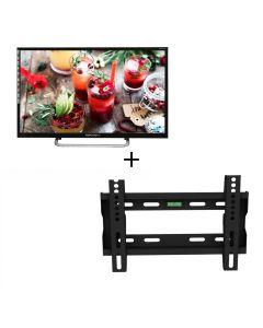 TOPCONPro - 32″ LED HD IDTV Ego LED 32V8 with Wall Mount (No Free Installation) EGOLED32K8Gift