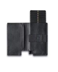 美國Ekster卡夾皮革錢包 - 黑色 Ekster_CW_Blue