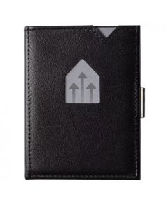 挪威Exentri Wallet 卡夾真皮防盜錢包 - 黑色 Exentri_W_BK_C
