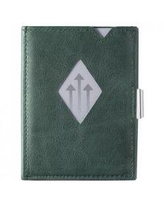 挪威Exentri Wallet 卡夾真皮防盜錢包 - 翡翠綠 Exentri_W