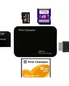 First Champion USB3.0 Multiple Card Reader - FC-CR630 FC-CR630