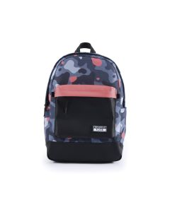 Frequent Flyer Jay Backpack - Coral Camo/Coral/Black