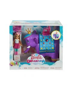 美泰遊戲 - 芭比娃娃™Dreamtopia娃娃和大象