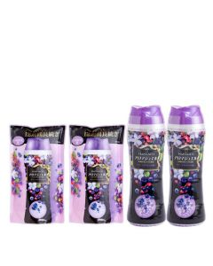 lenor - [Combo Set] Fabric enhancer Happiness Purple 520ml x2 + Refill 455ml x2 G00110
