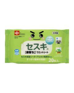 LEC GN 碳酸鈉電解水清潔濕紙巾20片GenX-C00172