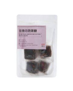 Ho Cha - Rose Four Agents Decoction Black Sugar (Vegan) (5 pieces) HC6002