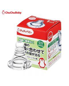 Chu Chu Baby - 柔軟型矽膠製奶嘴(1個)