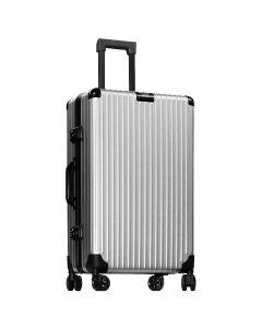Hallmark Design Collection 4輪金屬全鋁合金行李箱(灰色)(HM833ALFT)