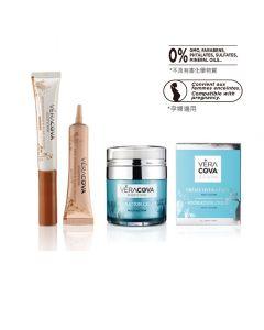 Vera Cova Skin Care Set ( Multi-action Hydration Cream + Eye Contour Cream - Anti-Puffiness and Dark HYD111P