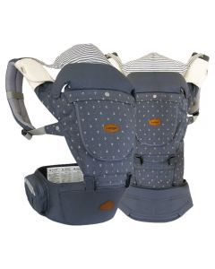 I-Angel - Miracle 4 Seasons Hip Seat Carrier - Stone Blue