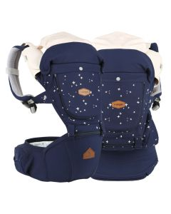 I-Angel - Miracle 4 Seasons Hip Seat Carrier - Star Navy