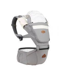 I-Angel - Nature 4 Seasons Hip Seat Carrier (Cloud Gray)