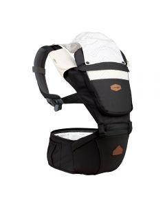 I-Angel - Nature 4 Seasons Hip Seat Carrier (Black)