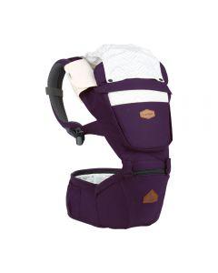 I-Angel - Nature 4 Seasons Hip Seat Carrier (Violet)