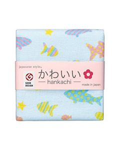Cotton Essence - Aquarium Gauze-pile Face Towel - White JK-5702