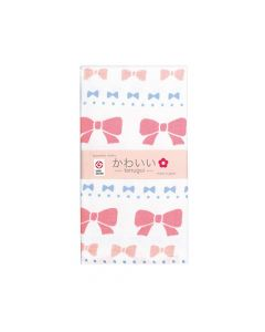 Cotton Essence - Ribbon Gauze-pile Face Towel - White JK-5705