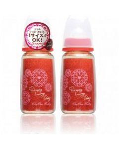 Chu Chu Baby - PPSU 奶瓶 Cool 系列 150mL (紅色)