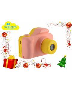 日本VisionKids Happi CAMU ハピカム兒童相機-粉紅色 JP030