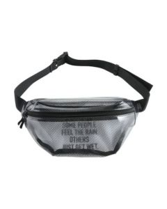 W.P.C. Japan KIU Waterproof Clear Mesh Body Bag K102-908